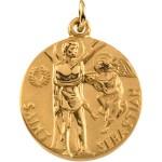 Gold Saint Sebastian Medal